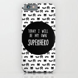 My own superhero iPhone Case