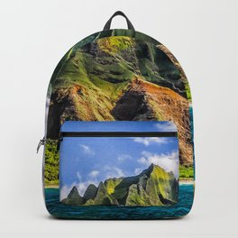 Na' Pali Spires, Kauai, Hawaii Backpack