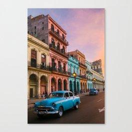 Colorful Havana Canvas Print