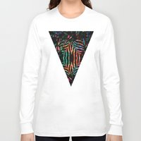 jungle Long Sleeve T-shirts featuring Jungle by Marta Olga Klara
