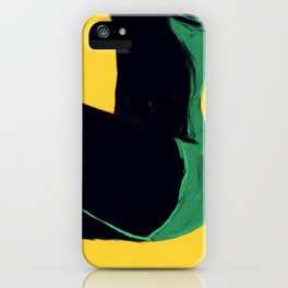 Swimmer #3 iPhone Case