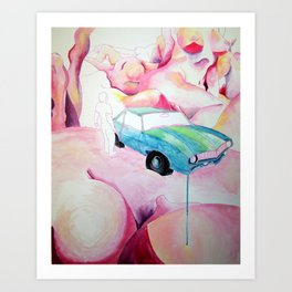 Lucid Dream Art Print