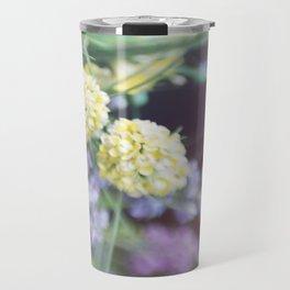 Garden blured flowers Travel Mug
