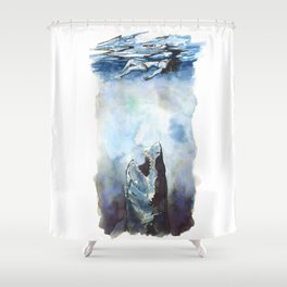 Don't Stop, Even For A Minute Shower Curtain