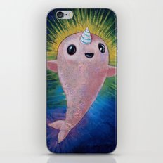 Baby Narwhal iPhone & iPod Skin