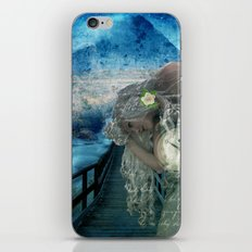 Aliyah -'she heard the call to ascend the Mt and she knew the time was now' iPhone Skin