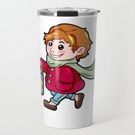 Sankt Martin Kid Lantern Christ present gift Travel Mug