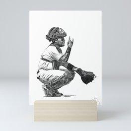 Yadier Molina Mini Art Print