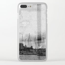Grand Port view, Syracuse, Sicily, Italy Clear iPhone Case