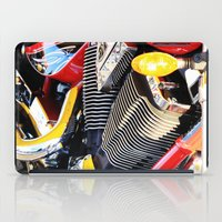motorcycle iPad Cases featuring Motorcycle by Carlo Toffolo