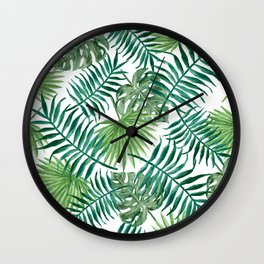 Palm Tree Extravaganza Wall Clock