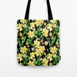 Narcissus' Garden Tote Bag