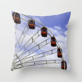 Ferris Wheel in the Sky  Throw Pillow