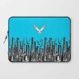 Peace of the Action BLUE / Peace concept Laptop Sleeve
