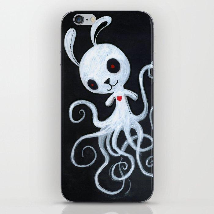 bunnnypus in the dark iPhone Skin