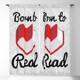 Born to Read II Blackout Curtain