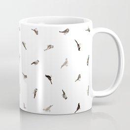 Garden Birds in Monochrome (Fine) Coffee Mug