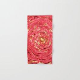 Swirling Rose Hand & Bath Towel