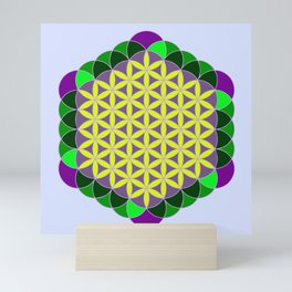 Flower Of Life Mini Art Print