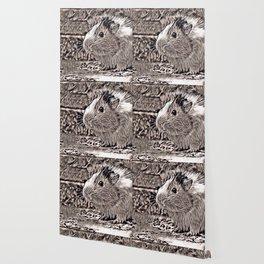 Rustic Style - Guinea PIg Wallpaper