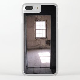 Embedded, Urban Exploration Architecture Clear iPhone Case