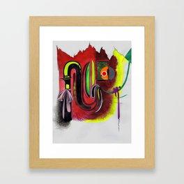 Yorsausibote Framed Art Print