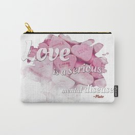 love is a disease Carry-All Pouch