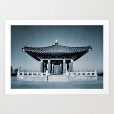Orient Architecture Art Print