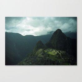 Machu Picchu NO3 Canvas Print