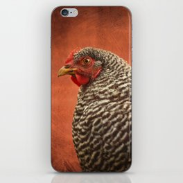 Red Chicken iPhone Skin