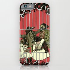Crow Serie :: At The Balcony (after Goya) iPhone 6s Slim Case