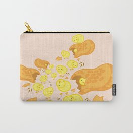 Peanut Chickens Carry-All Pouch