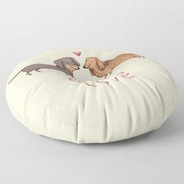 Doxie Love Floor Pillow