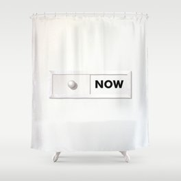 NOW 02A Shower Curtain