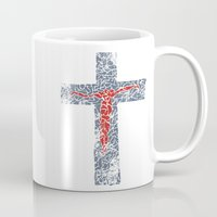 jesus Mugs featuring Jesus by biblebox