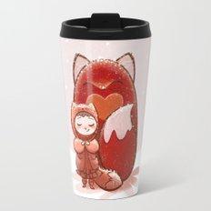 Fox Girl Travel Mug