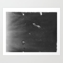 film photograph taken with crown graphic 4x5 camera Art Print