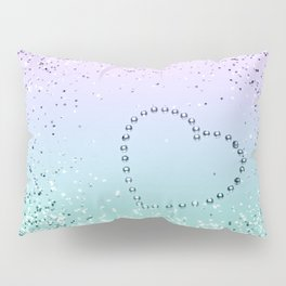 Sparkling MERMAID Girls Glitter Heart #1 #decor #art #society6 Pillow Sham
