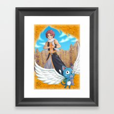 Fairy tail Framed Art Print