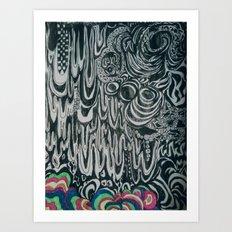 Doodler Art Print