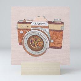 WOOD CAN0N Mini Art Print