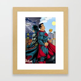 Super Stare! Framed Art Print