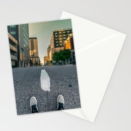 Down Is The New Up Stationery Cards
