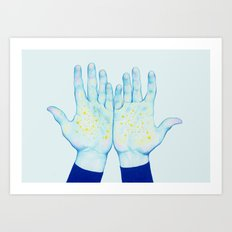 Stars III Art Print
