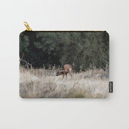 Deer Sratching Its Ear Carry-All Pouch