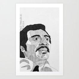 Prince Manuwalde / Blacula Art Print