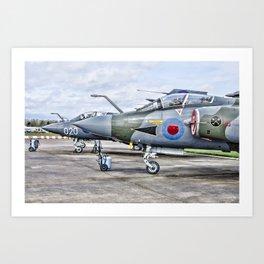 Buccaneer strike aircraft Art Print