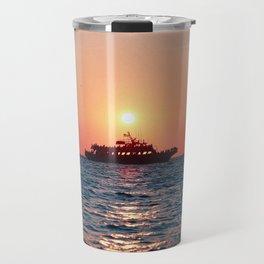 Cape May Sunset Cruise Travel Mug