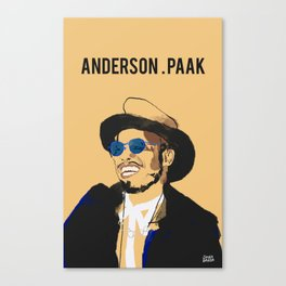 Anderson .Paak Canvas Print