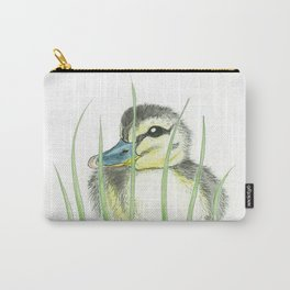 Peekaboo Baby Duck Carry-All Pouch